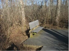Little River Greenway bench