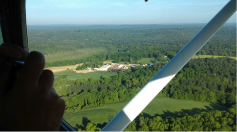 Gosnell from the air
