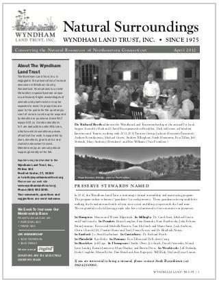 WLTApril2012 Newsletter