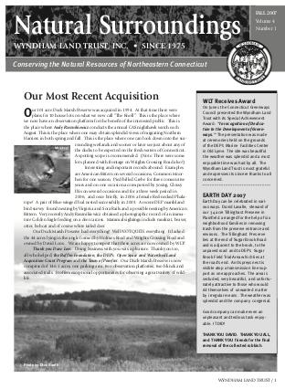 WLTFall2007 Newsletter