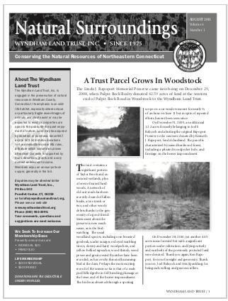 WLTFall2011 Newsletter