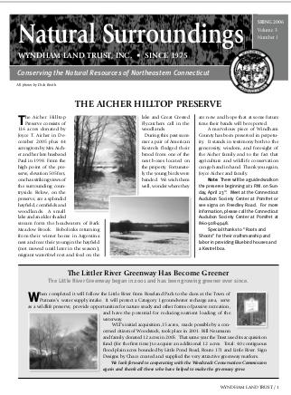 WLTSpring2006 Newsletter