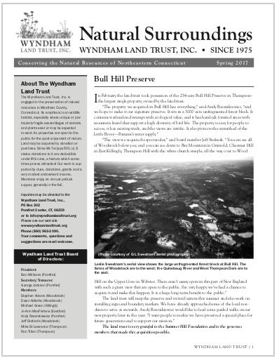 WLTSpring2017 Newsletter