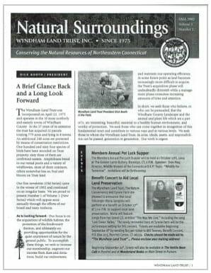 WLT Fall 2002 Newsletter Thumbnail