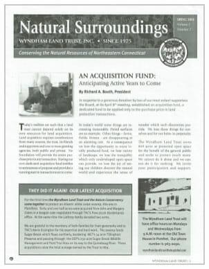 WLT Spring 2004 Newsletter Thumbnail