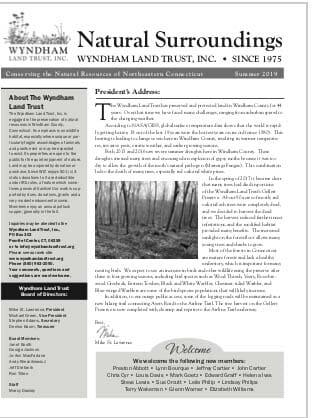 WLT Newsletter Dummer 2019 Thumbnail