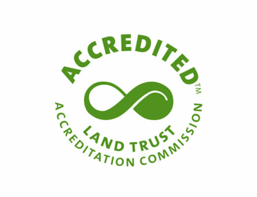 An Accredited Land Trust Seal